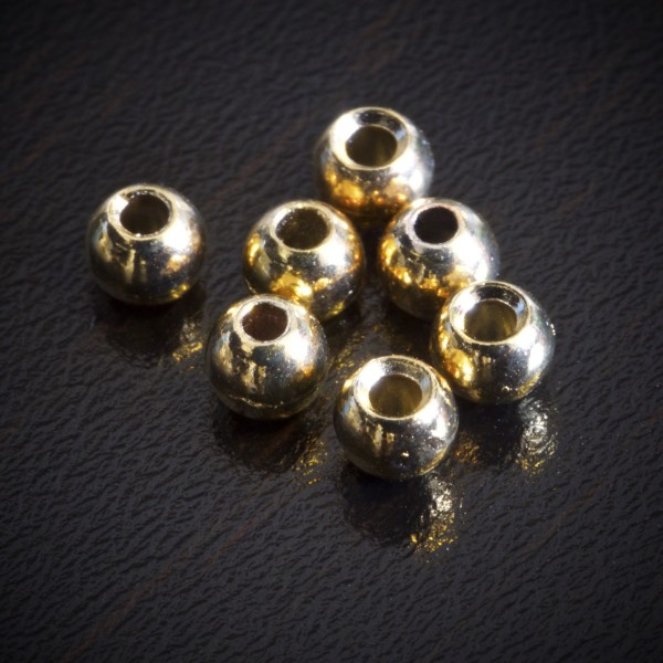 Gold Tungsten Beads Fly Tying