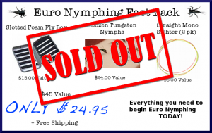 Euro Nymphing Fast Pack_sold out