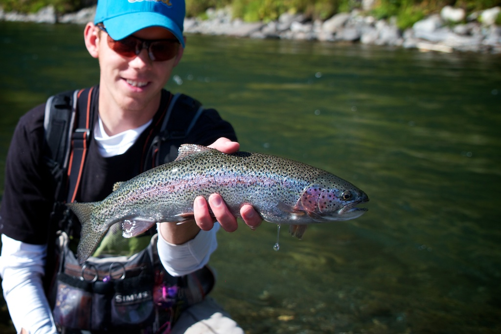 Alaskan Rainbow Caught on Tungsten Embryo