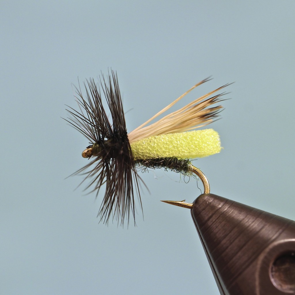Foam Body Caddis Dry Fly