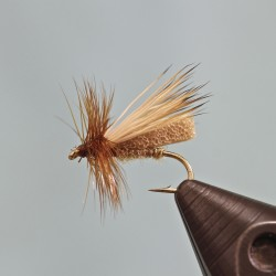 Foam Body Caddis – Dry Fly Tying Video | Fly Tying 123 - Fly Tying Instructions and Videos