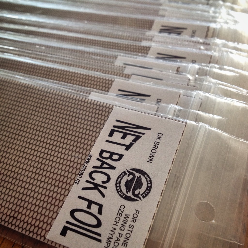 Net Back Foil In Stock