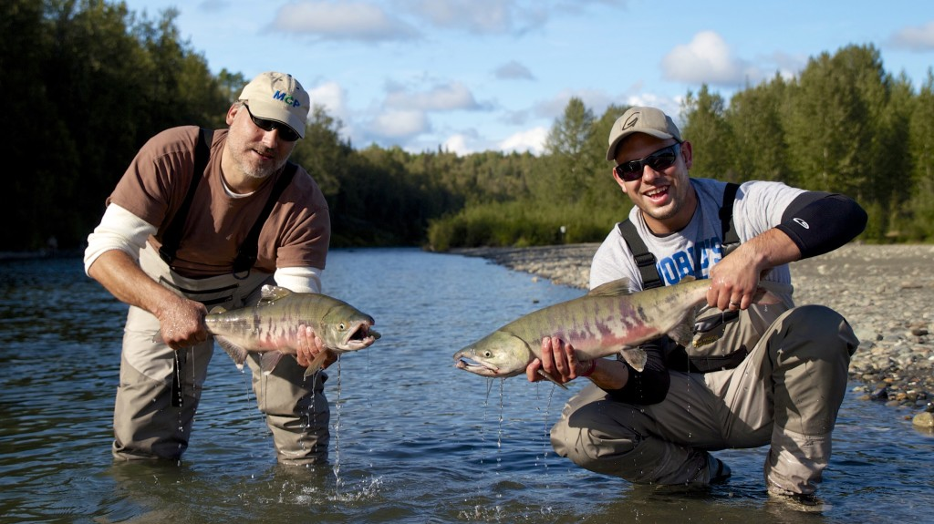 Alaska Salmon Fly Fishing