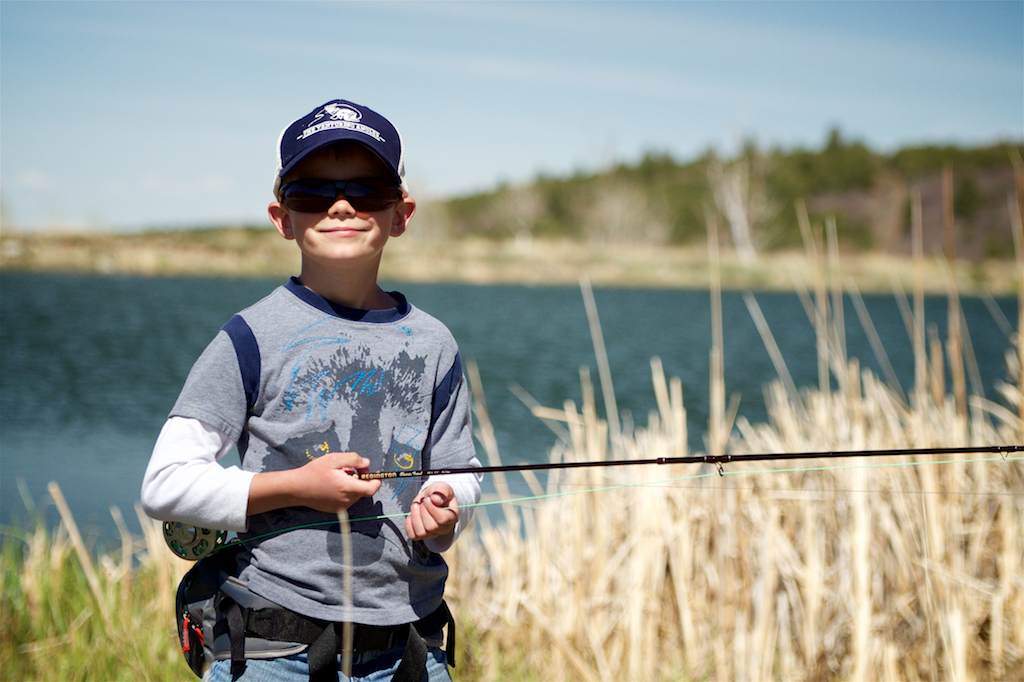 Kids that Fly Fish